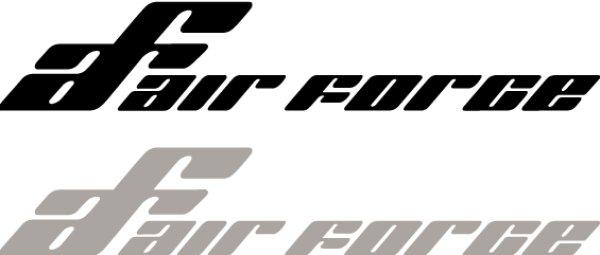 画像1: Air Force ステッカー (1)